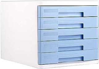 LIUYULONG Armoire de rangement de fichiers, armoire à tiroirs multicouches en plastique, tiroir de bureau, boîte de rangem...
