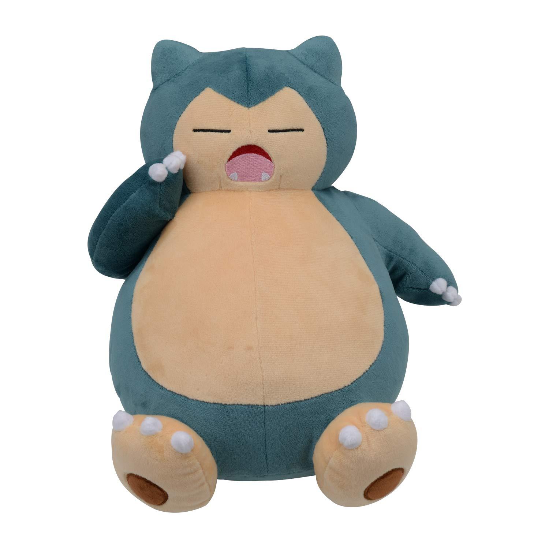 Pokemon Center Plush Snorlax Yawning: Amazon.sg: Toys & Games