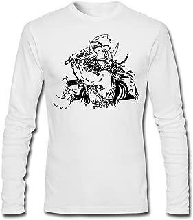 Men's Odin Viking Warriors Norse God Funny Long T-Shirt