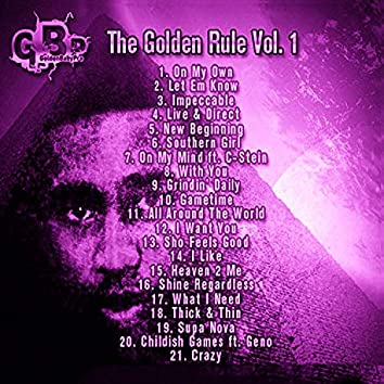The Golden Rule, Vol. 1 (Slowed & Chopped Versions)