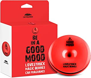 BE IN A GOOD MOOD カーフレグランス 車用 芳香剤/エアコン取付型 MAGIC BERRIESの香り