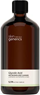 Skin Generics | Anti-Imperfections Facial Cleanser with Glycolic Acid | 250 ml | Pore Cleanser and Facial Exfoliant | Sali...