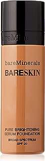 bareMinerals bareSkin Pure Brightening Serum Foundation SPF 20, Bare Latte 11, 1 Fl Oz