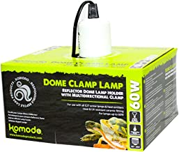 Komodo Dome Clamp Lamp Fixture 14cm