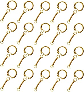 Prettyia 20pcs Metal Key Chains Key Rings 3.8cm Basic Keychains Split Rings DIY Fingdings