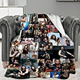 Jason-Momoa Blanket Ultra-Soft Skin-Friendly Flannel All Seasons for Aldults Kids Bed Sofa Chair Camp Living Room 50x40 Inch