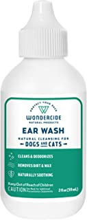Wondercide All Ears Natural Ear Wash for Dogs & Cats - 2 oz