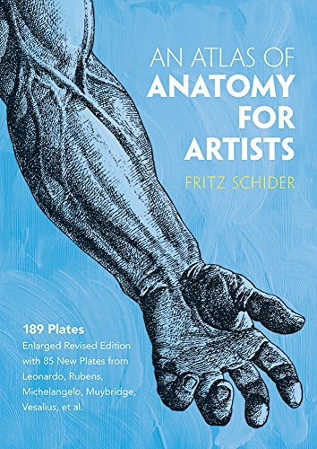 An Atlas of Anatomy for Artists (Dover Anatomy for Artists)