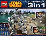 Lego Star Wars - 66479 Value Pack 3 in 1 (75015 + 75035 + 75043)