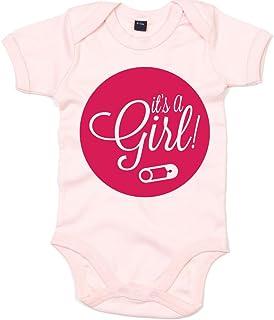 "Shirt Happenz It""s A Girl 01 Babystrampler   Strampler   Bodysuit   Babybody   Babyeinteiler   Oeko-TEX  100 Standard"
