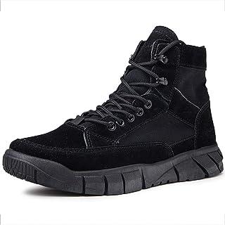 Ultralight Men's Tactical Boot Footwear, Waterproof Desert Athletic Tactical Ankle Combat Comfort Boots
