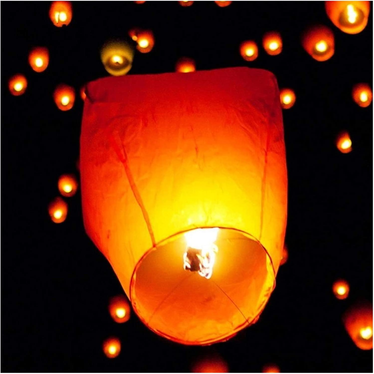 10PCS Chinese Paper Flying Wishing Chr Candle All stores are sold Lamps Lanterns New Shipping Free Fly