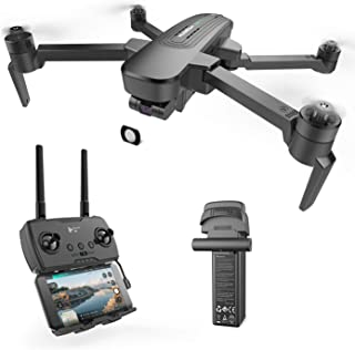 HUBSAN Zino Pro+ 4K Drone with Three-axis stabilization Gimbal,FPV Distance 8km,Panoramic Photos, Time Lapse Photography w...