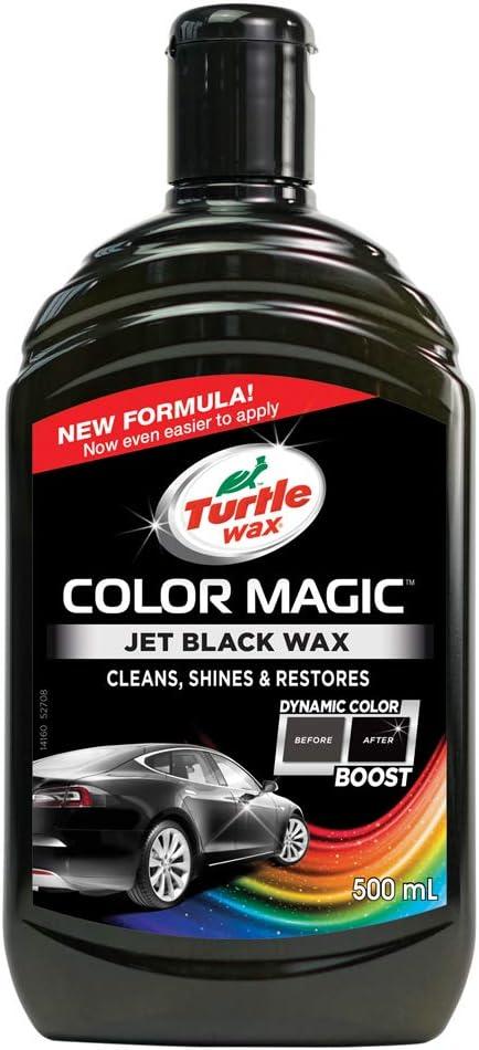 Turtle Wax 52708 Color Magic Lack Polieren Und Glänzen Für Schwarzes Auto 500ml Schwarz Auto