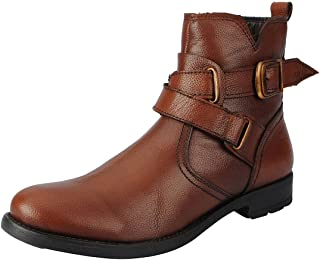 FAUSTO Men's Leather Boots