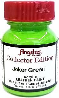Angelus Brand Leather/Vinyl Paint/Dye Waterproof Collector Edition 1 oz