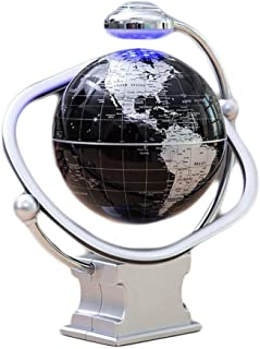 LQQFF Útiles Escolares Globo de levitación magnética de 8 Pulgadas con iluminación de rotación bidireccional HD tecnología de enseñanza Globo (Color : C)