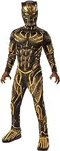 Rubie's Costume Co - Marvel: Black Panther Movie Deluxe Boys Erik Killmonger Battle Suit Costume