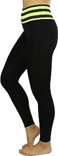 ToBeInStyle Women's Two Toned Active Yoga Pants