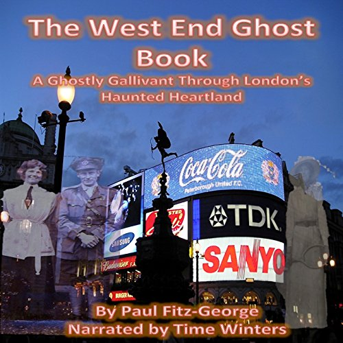 The West End Ghost Book audiobook cover art