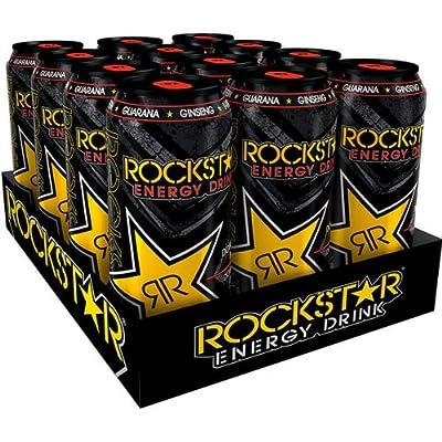 12 Dosen Rockstar Energy Drink Orginal a 0,5L inc. Pfand DPG