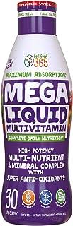 Feel Great Vitamin Co. Superfood Mega Liquid Multivitamin | Natural Immune Support including Vitamins & 72 Trace Minerals,...