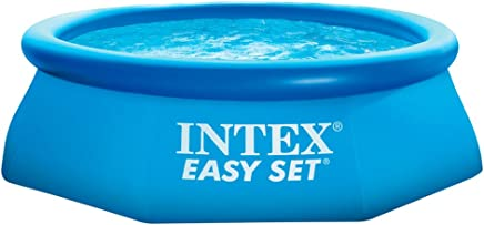 Intex 28112NP - Piscina hinchable Easy Set 244 x 76 cm, 2.419 litros
