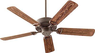 "Quorum 143525-86, Estate Patio Oiled Bronze 52"" Outdoor Ceiling Fan"
