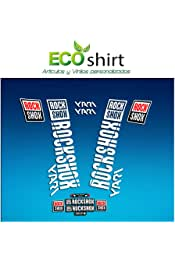 Gris Ecoshirt 0N-13MM-VDWU Pegatinas Stickers Fork Rock Shox Rs1 2017 Am128 Aufkleber Decals Autocollants Adesivi Forcela