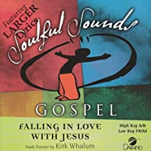 Falling In Love With Jesus Accompaniment/Performance Track