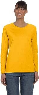 G540L Ladies 5.3 oz. Heavy Cotton Missy Fit Long-Sleeve T-Shirt