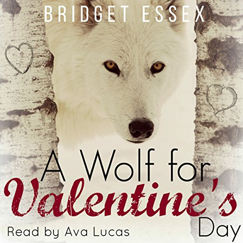 A Wolf for Valentine's Day audiobook cover art