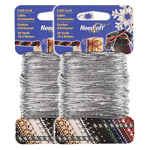 Solid Metallic Silver Cord