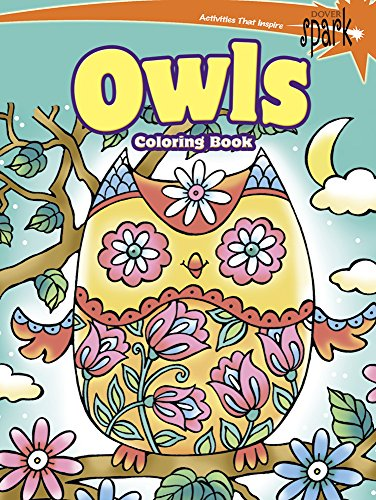 SPARK Owls Coloring Book (Dover Coloring Books)