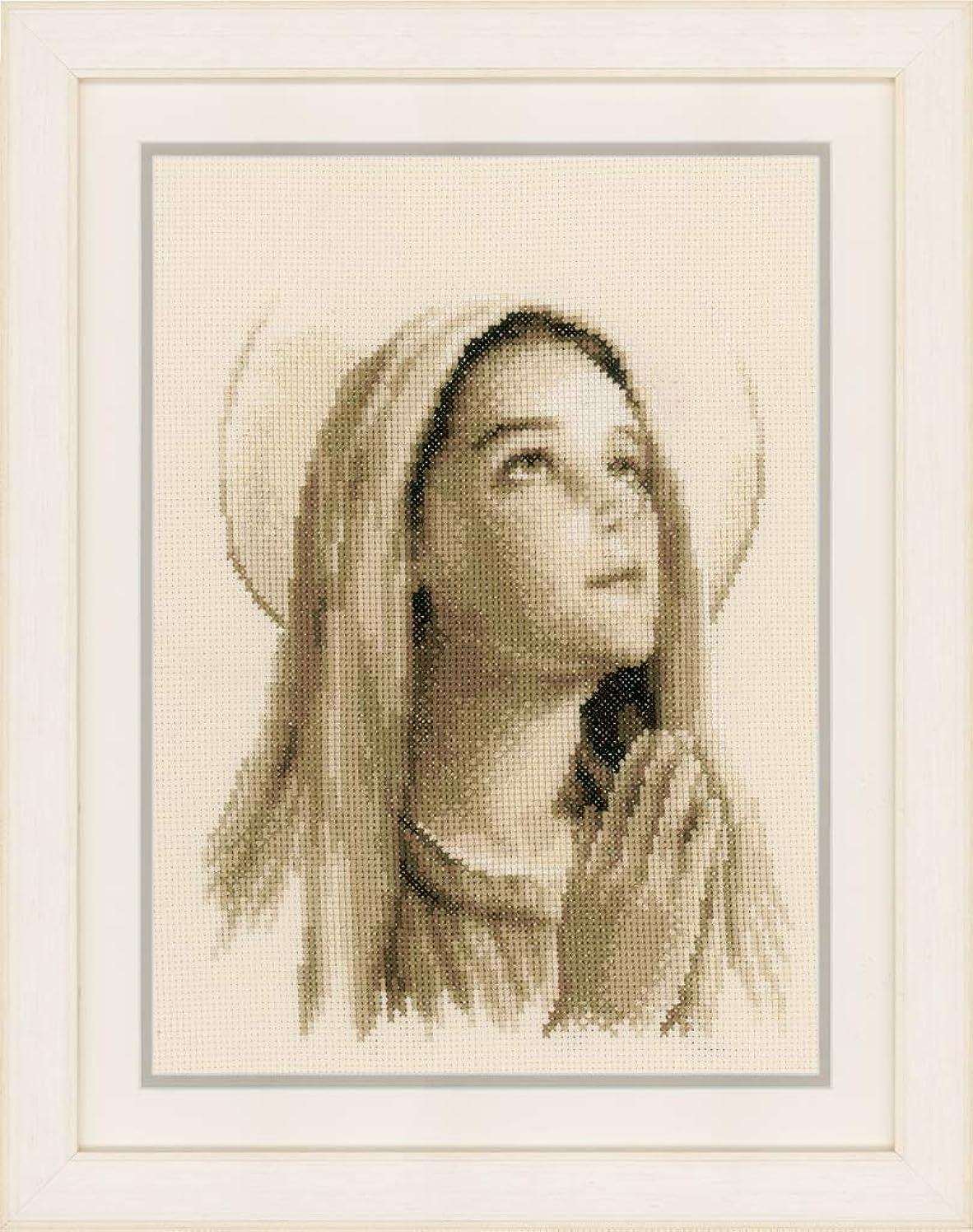 Vervaco Hail Mary On Aida (14 Counted Cross Stitch Kit 8
