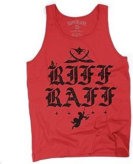 Superluxe Clothing Mens/Unisex Riff Raff Tank Top