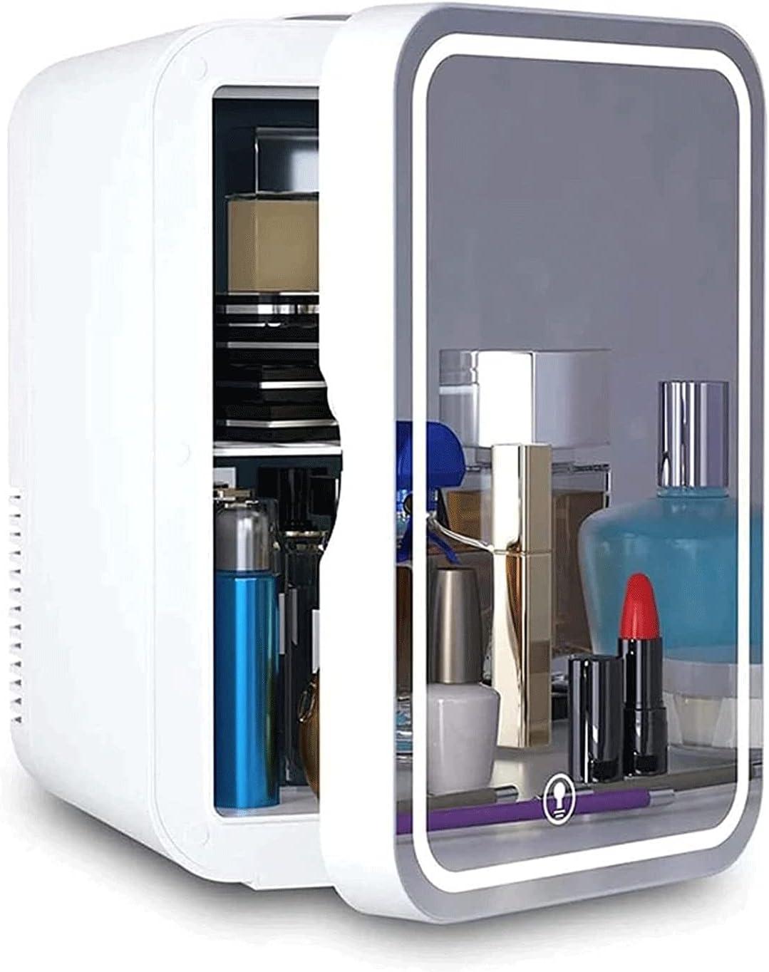 LJJSMG Mini Fridge 10 Liter AC Portable Thermoelectric Memphis Mall Cooler Max 58% OFF DC