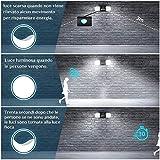 Immagine 2 luce solare led esterno ousfot