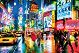 empireposter New York Times Square by Night Amerika Stadt