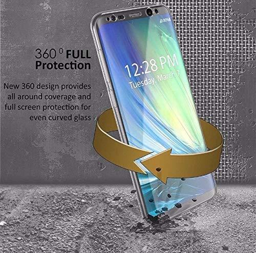 Capa Frente E Verso 360 Silicone Samsung Galaxy S8 Plus