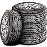 Set of 4 (FOUR) MRF Wanderer A/T All-Terrain Radial Tires-265/65R17 112T