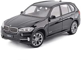 UEHGMD X5 Car Model 1:24 Simulation Alloy Die-Casting Toy Model Car Collection Jewelry Model Car (Color : Black)