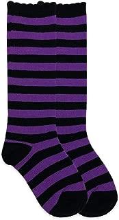 Jefferies Socks Girls Halloween Striped Costume Knee High Socks 1 Pair Pack