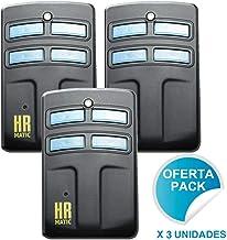 Pack 3 Unidades Mando duplicador HR Matic 2 Rolling Code, Compatible Erreka, Pujol, Mutancode, Mastercode, Faac, Clemsa, Forsa, Ditec, Telcoma, JCM, V2, Go, Sommer, Nice. Mirar compatibilidades MD7