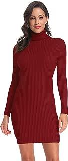 Best turtleneck oversized sweater dress Reviews