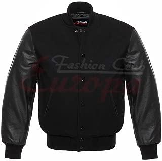 Best leather sleeve varsity jacket mens Reviews