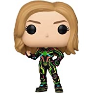 Funko Pop! Marvel: Captain Marvel - Captain Marvel with Neon Suit