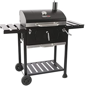 Royal Gourmet CD1824E 24-inch Charcoal BBQ Grill Outdoor Picnic Patio Cooking Backyard Party