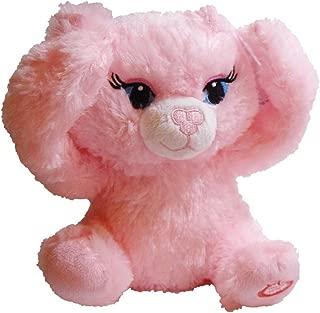 Playright Animated Pink Kitty Cat Peekaboo Animal Toy Talks Giggles