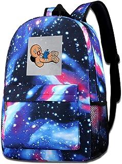 Galaxy - Bolsa de hombro estampada para hombre de jengibre, galletas, monstruo, pecho, brújula, alien, parodia, a la moda,...